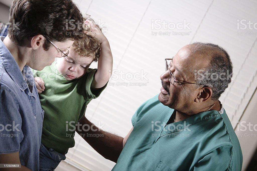 Pediatrician royalty-free stock photo