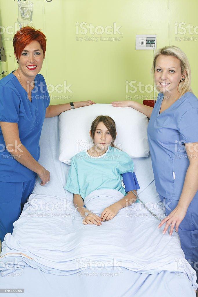 Pediatrics - Nurse Doctor Client royalty-free stock photo
