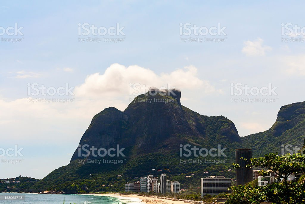 Pedra da Gavea mountain royalty-free stock photo