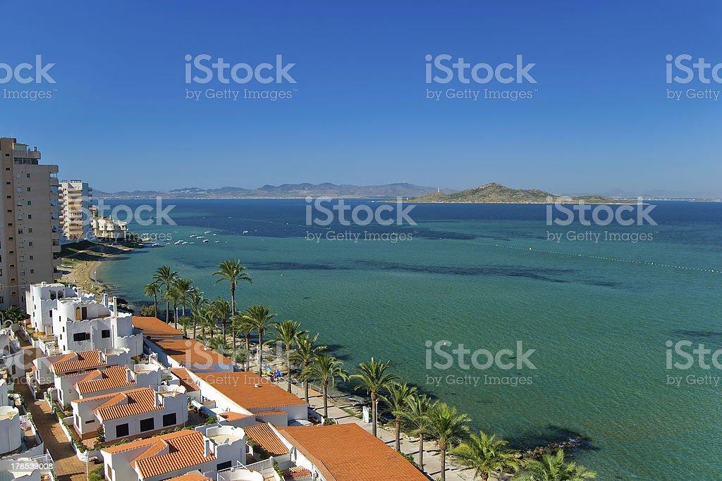 Pedruchillo beach stock photo