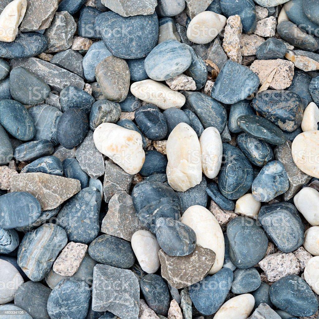 peeble stones background. stock photo