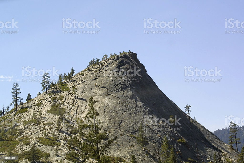 peek over the hill royalty-free stock photo