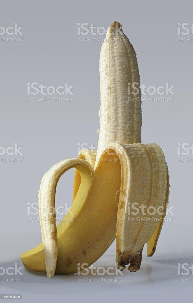 Peel banana royalty-free stock photo
