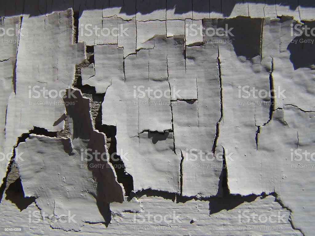 Peeled paint texture royalty-free stock photo