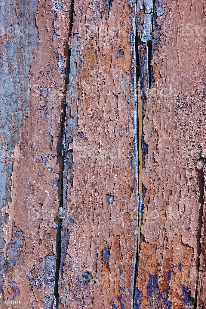 Peeled painting background royalty-free stock photo