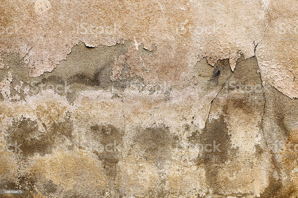 peeling and crack wall stock photo