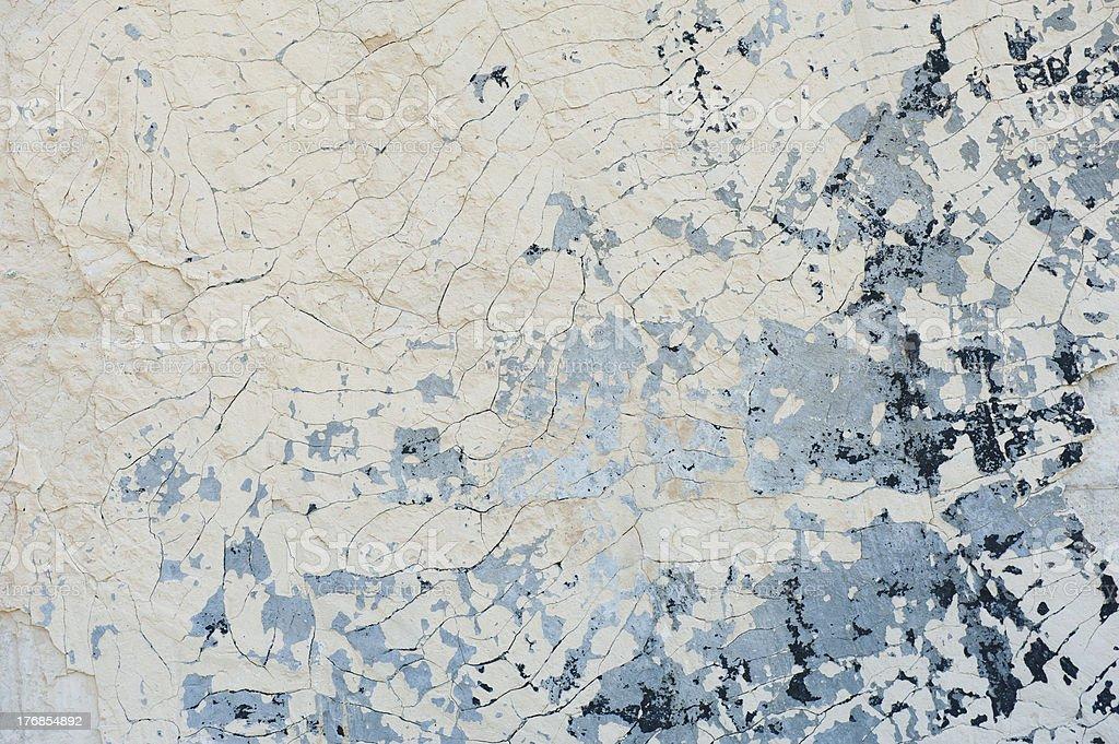 Peeling cracked paint background royalty-free stock photo