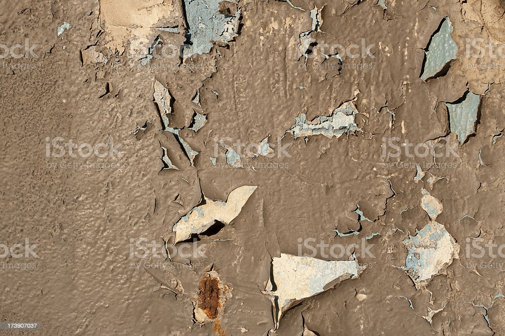 Peeling paint background texture royalty-free stock photo