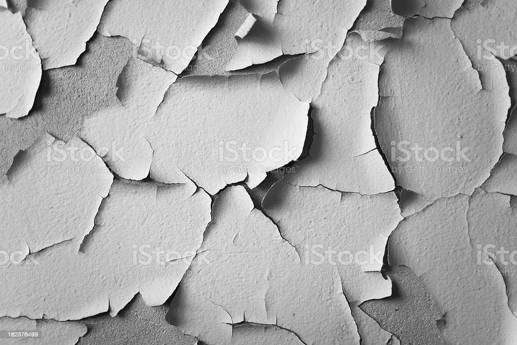 Peeling paint. stock photo