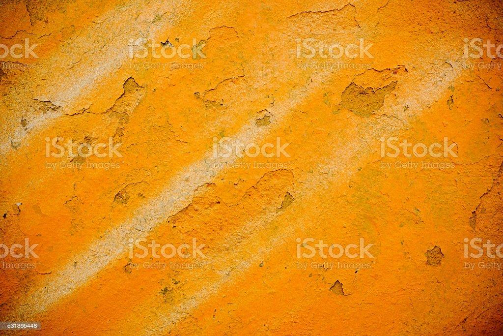 peeling plaster wall. stock photo