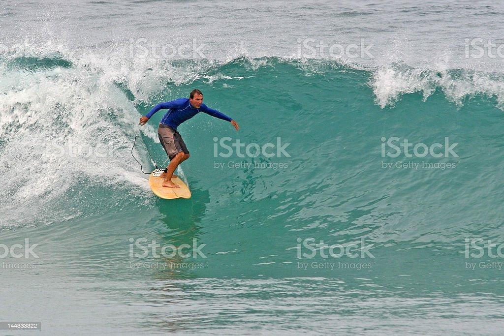 Peeling Wave stock photo