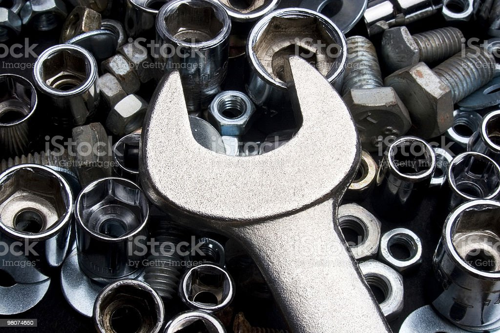 Spanner stock photo