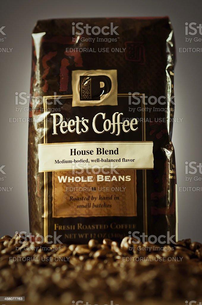 Peet's Coffee stock photo