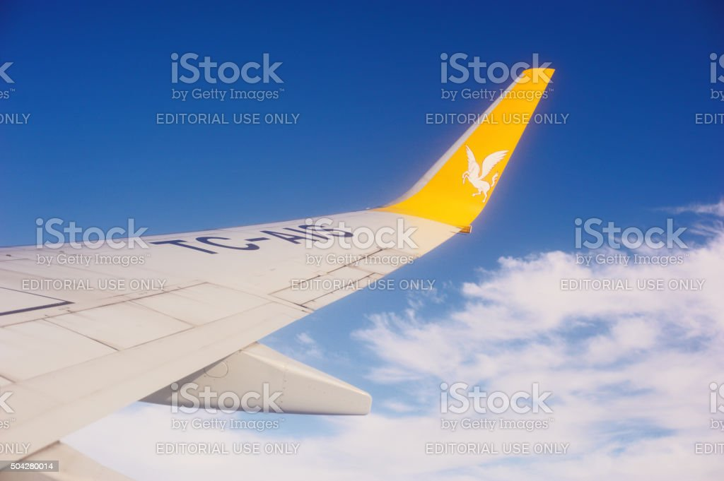 Pegasus airlines stock photo