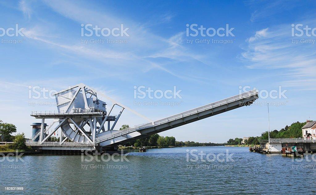 Pegasus Bridge Normandy stock photo