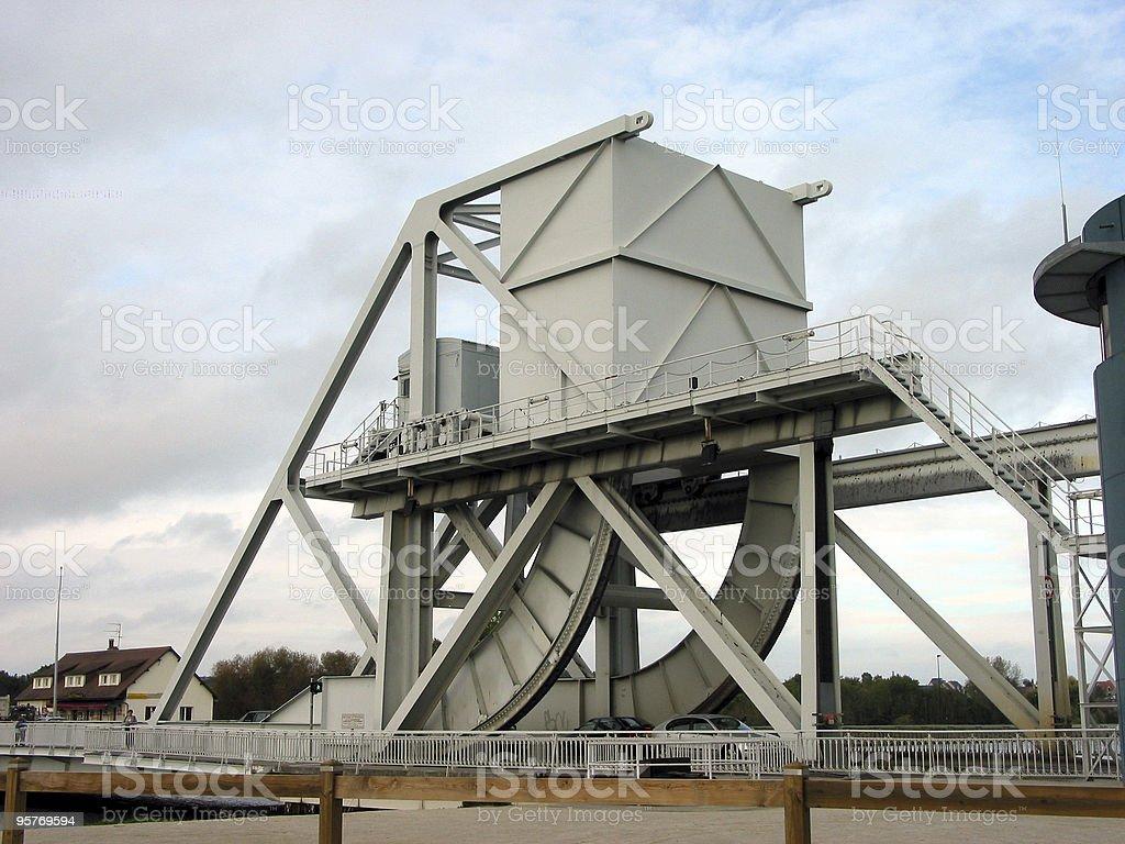 Pegasus Bridge stock photo