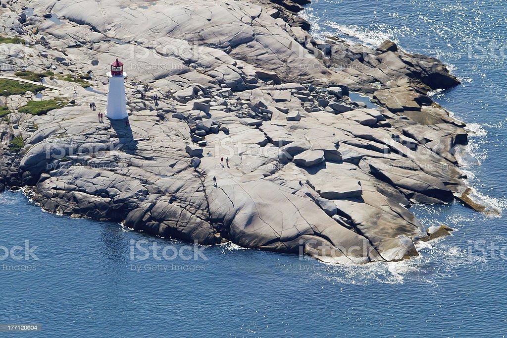 Peggys Cove Aerial-8433 stock photo