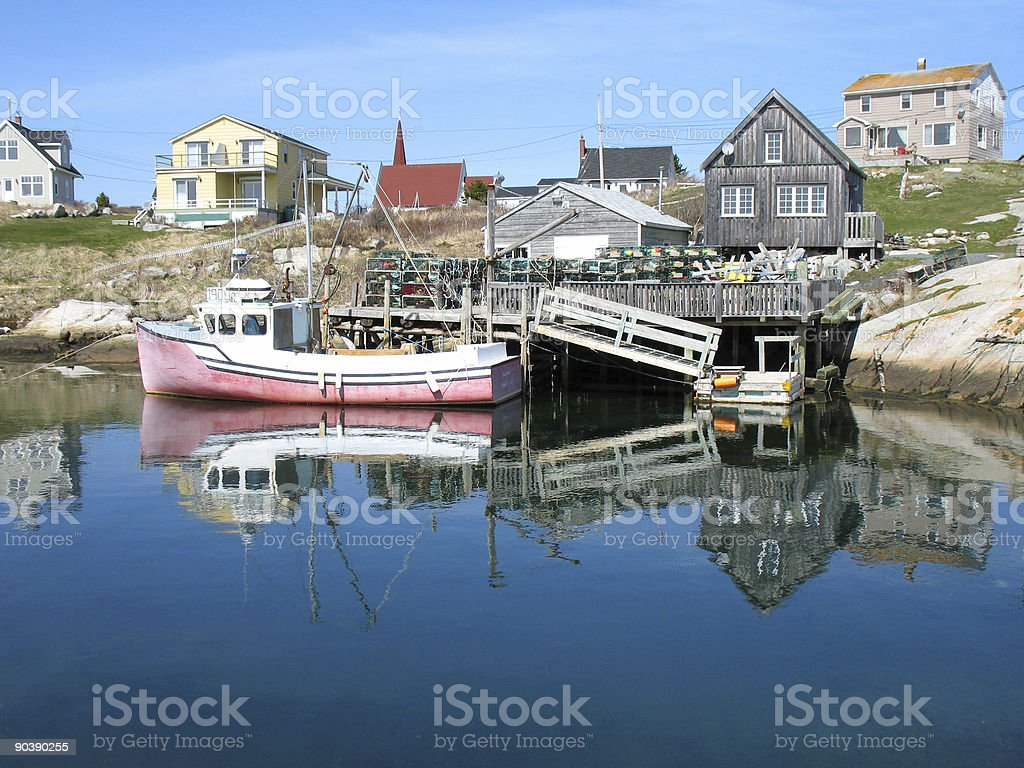 Peggy's Cove Nova Scotia stock photo