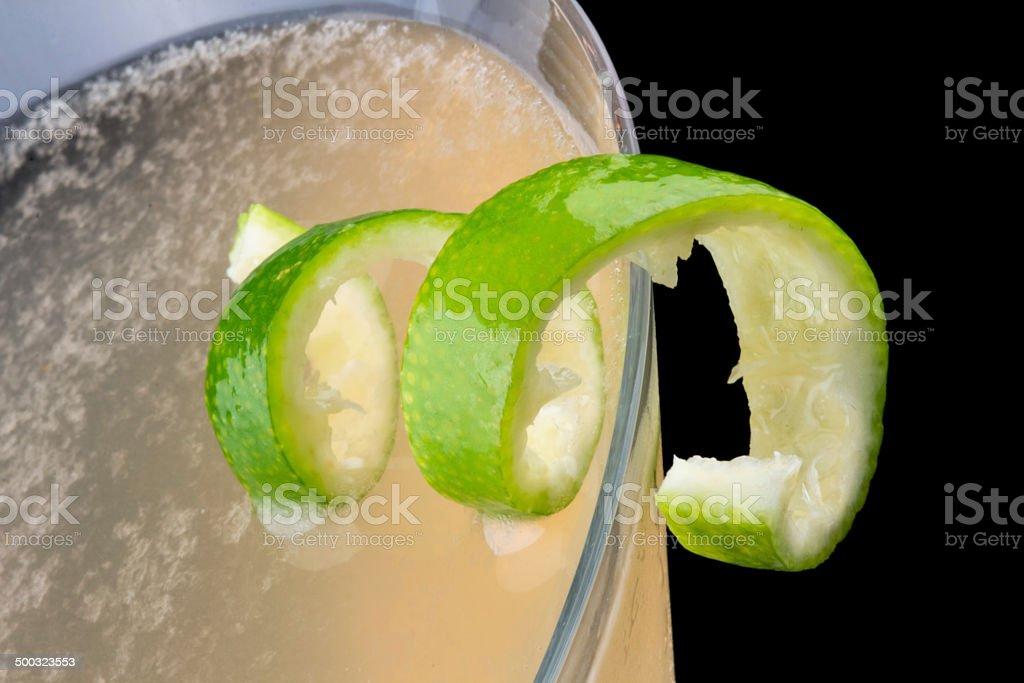 Pegu Club cocktail stock photo