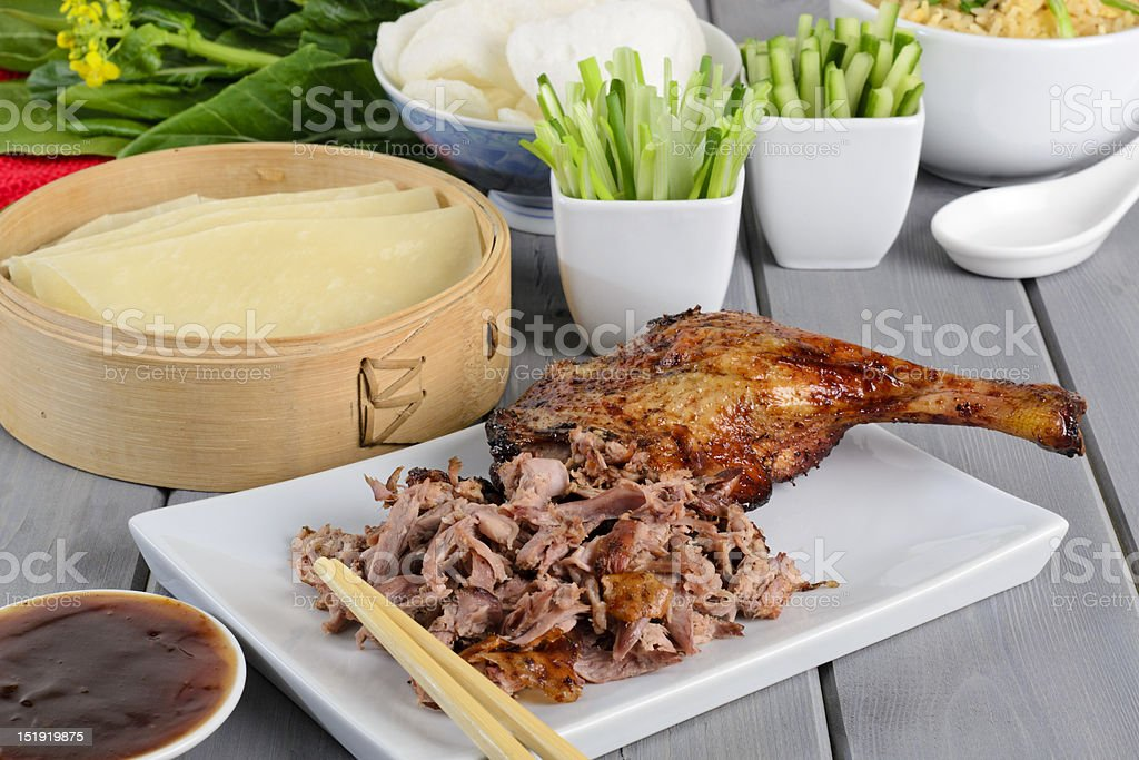 Peking Duck stock photo