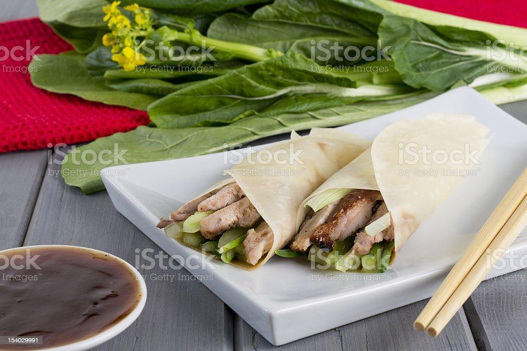 Peking Duck royalty-free stock photo