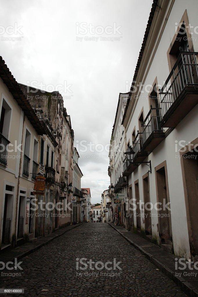 Pelourinho in Salvador, Bahia, Brazil. stock photo