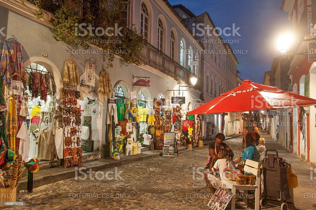 Pelourinho in Salvador, Bahia stock photo