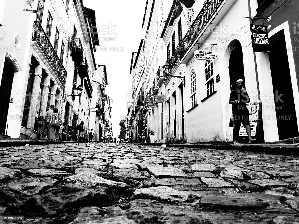 Pelourinho - Salvador - Bahia - Brazil stock photo