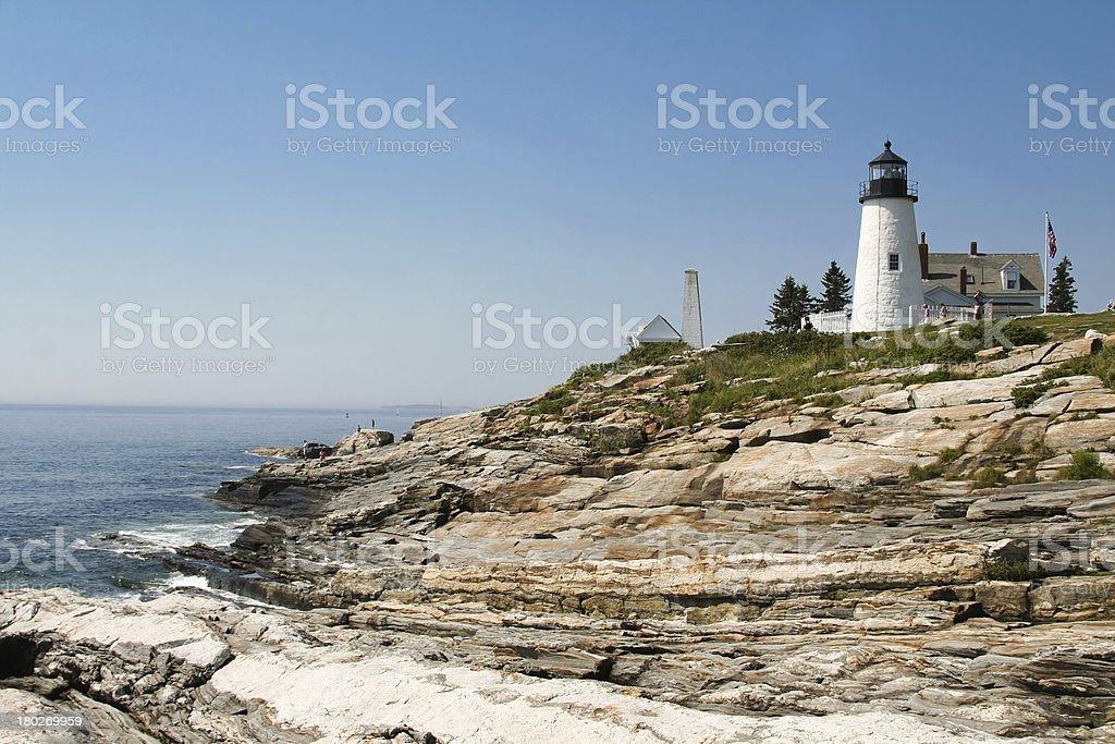 Pemaquid Lighthouse, Maine stock photo