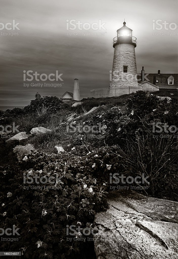 Pemaquid Lighthouse, Maine royalty-free stock photo