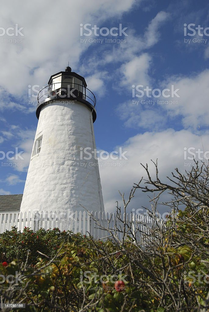 Pemaquid Lighthouse stock photo