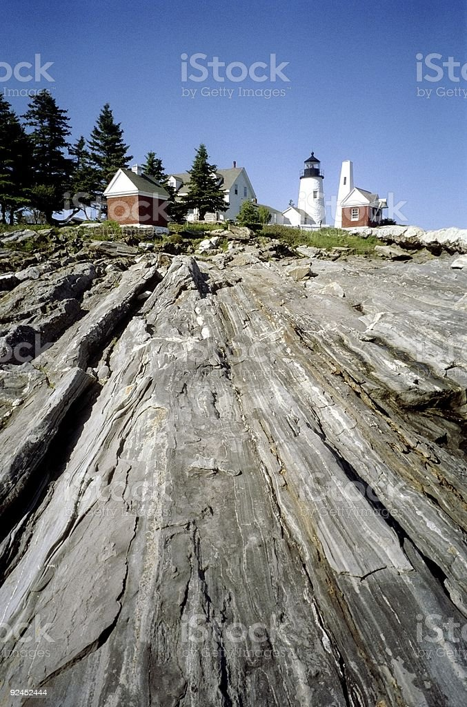 Pemaquid Lighthouse-Maine royalty-free stock photo
