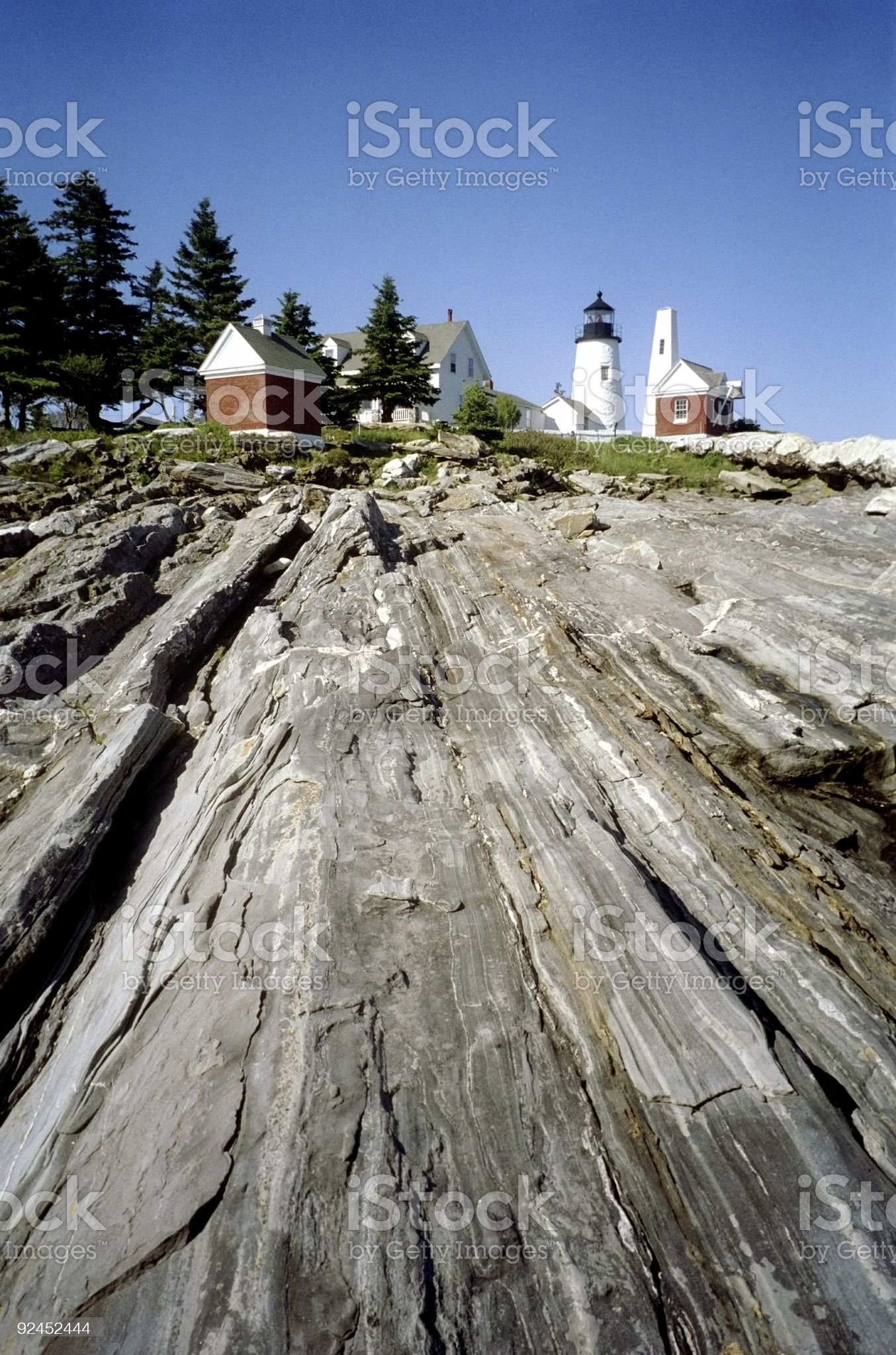 Pemaquid Lighthouse-Maine royalty-free stock photo