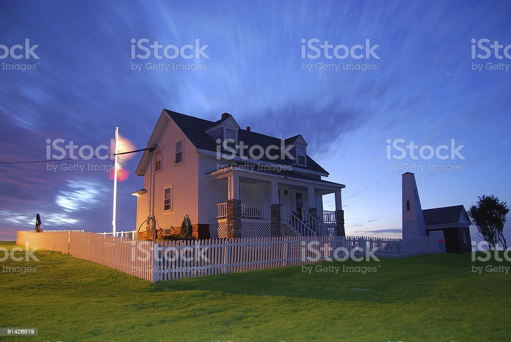 Pemaquid Point - Early Morning royalty-free stock photo