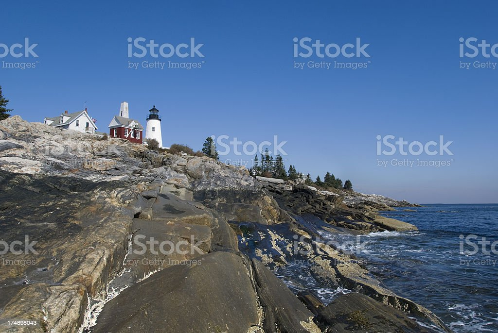 Pemaquid Point royalty-free stock photo