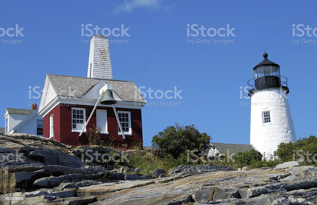 Pemaquid Structure royalty-free stock photo