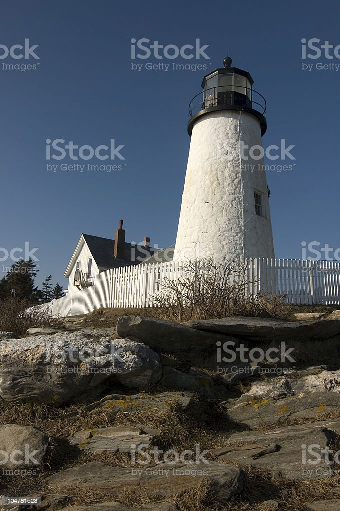 Pemaquid Tower stock photo