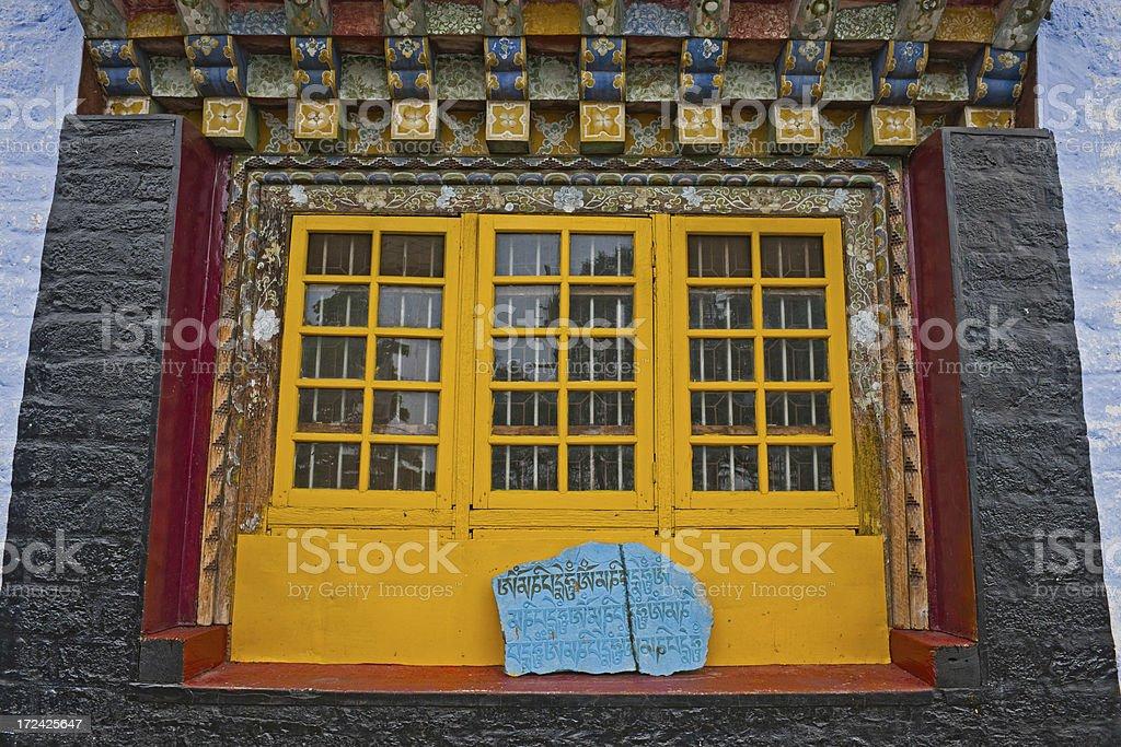 Pemayngtse Buddhist Monastery Sikkim India royalty-free stock photo