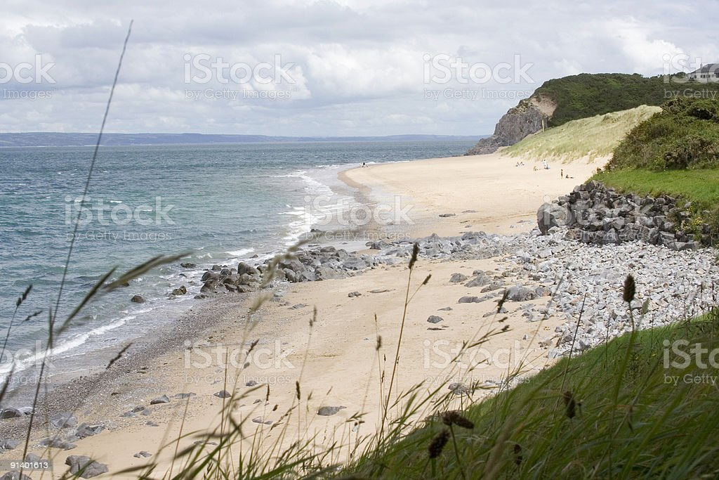 Pembrokshire Beach royalty-free stock photo
