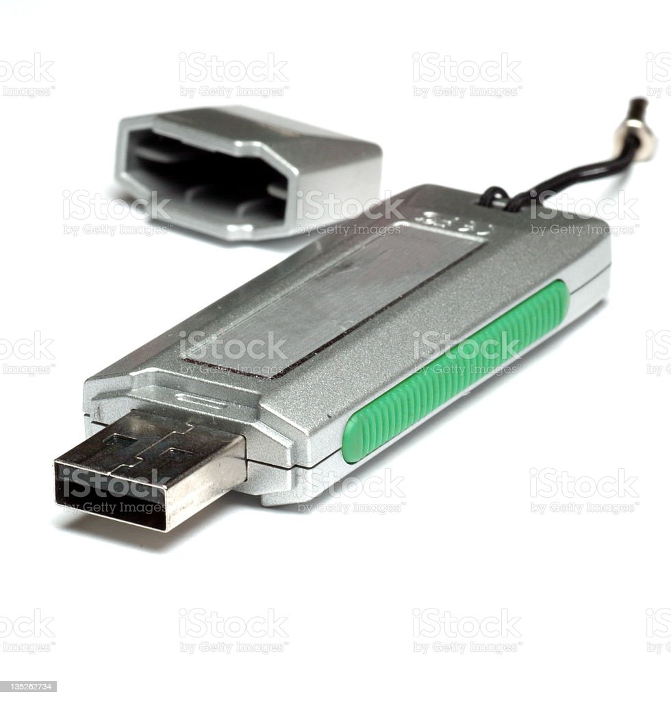 USB pen drive royalty-free stock photo