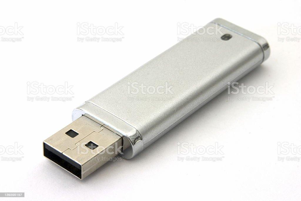 USB pen drive stock photo