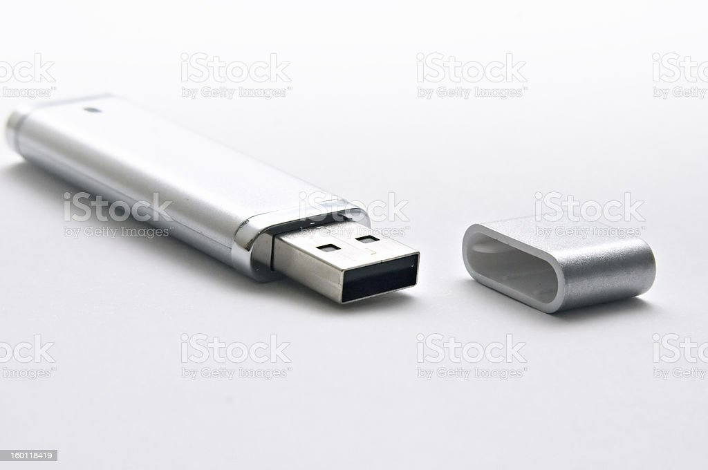 USB pen drive royalty-free stock photo