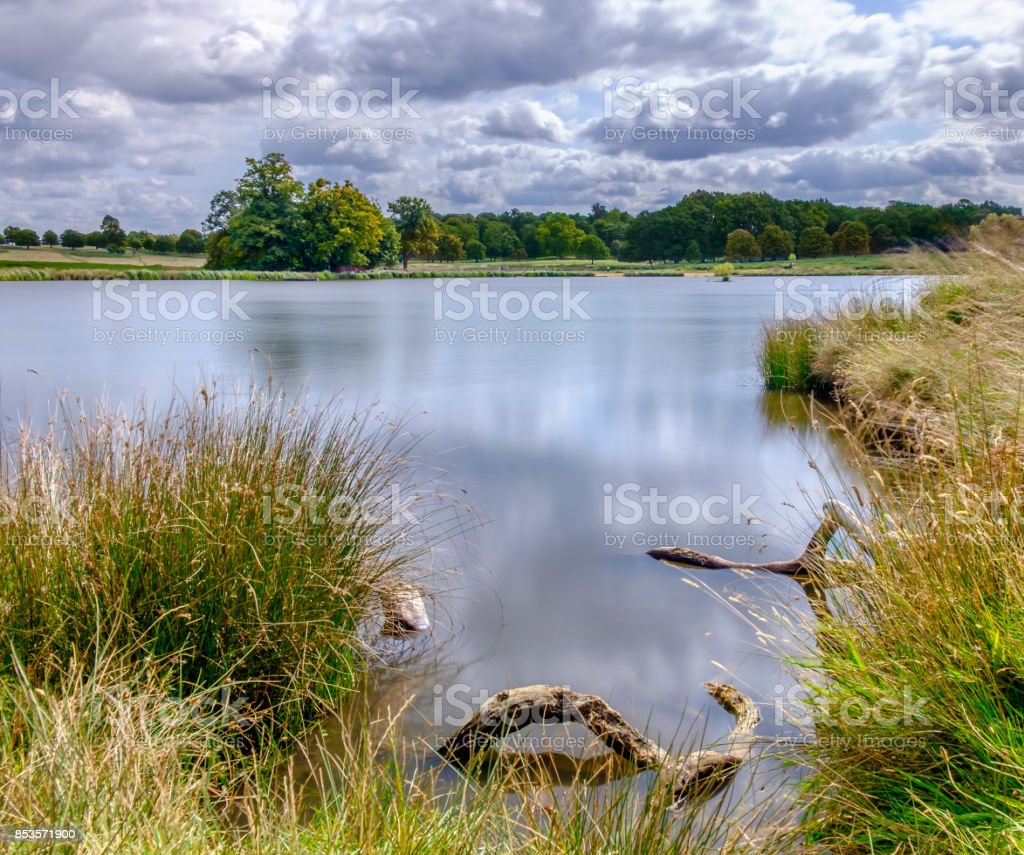 Pen Pond stock photo