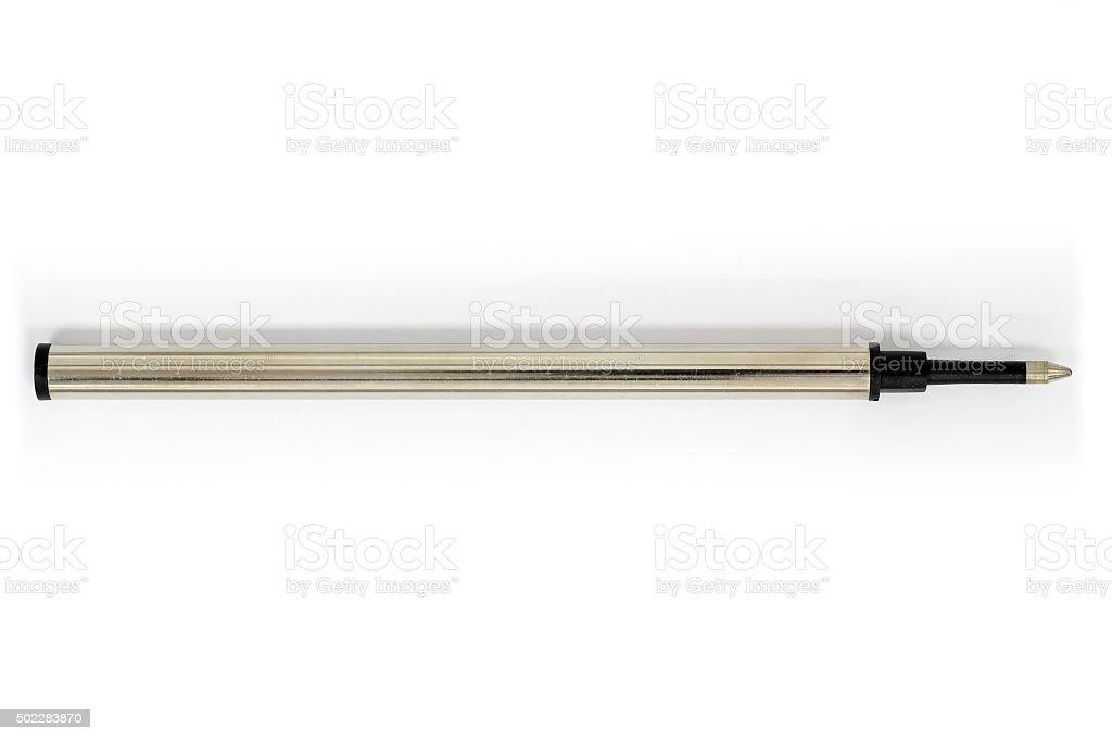 Pen refill roller ball stock photo