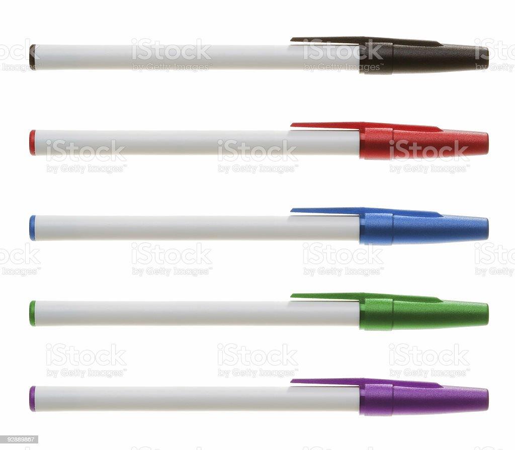 Pen Set stock photo
