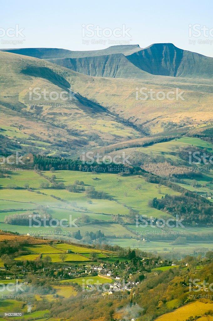 Pen y Fan, Brecon Beacons, Wales stock photo