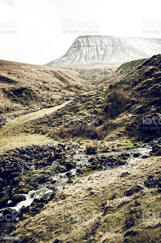 Pen Y Fan mountain, brecon beacons stock photo