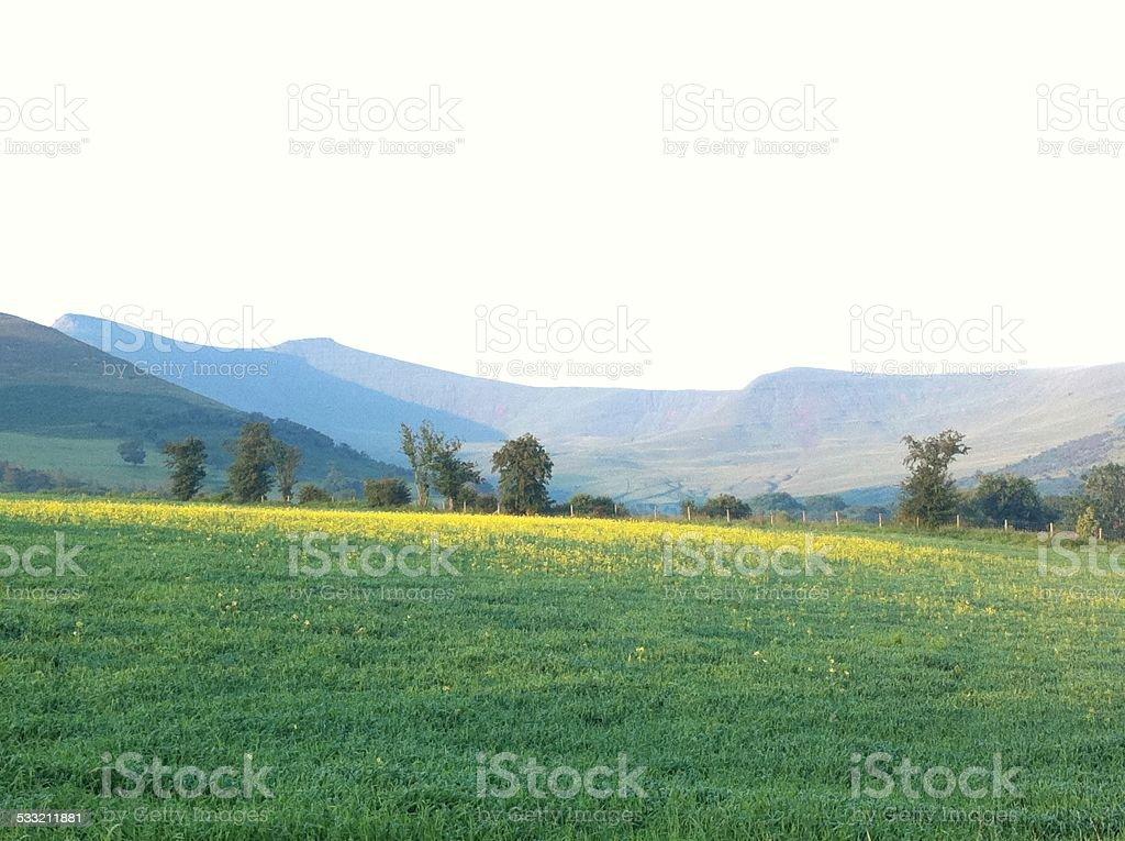 Pen y Fan Mountain, Brecon stock photo