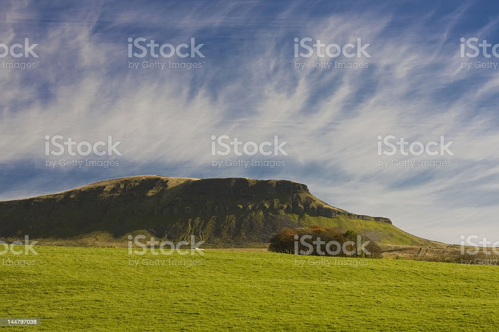 Pen Y Ghent Hill , Yorkshire dales stock photo