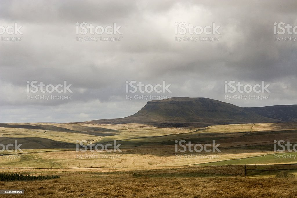 Pen y ghent Hill Yorkshire uk stock photo